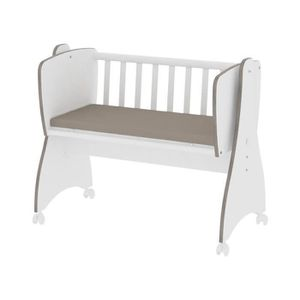 berceau bebe blanc achat vente berceau bebe blanc pas cher cdiscount. Black Bedroom Furniture Sets. Home Design Ideas