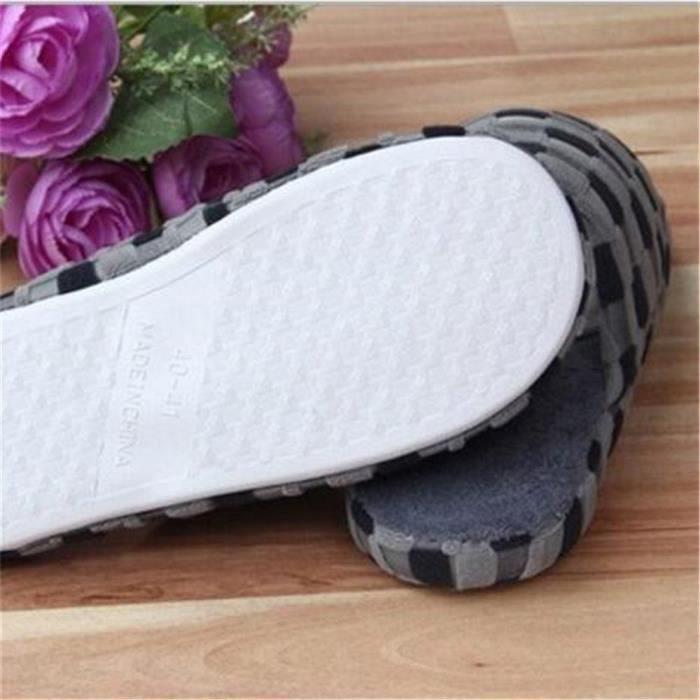 Pantoufles Cartoon Animaux Hiver Chaud Peluche Panda slippers BTYS-XZ037Blanc38