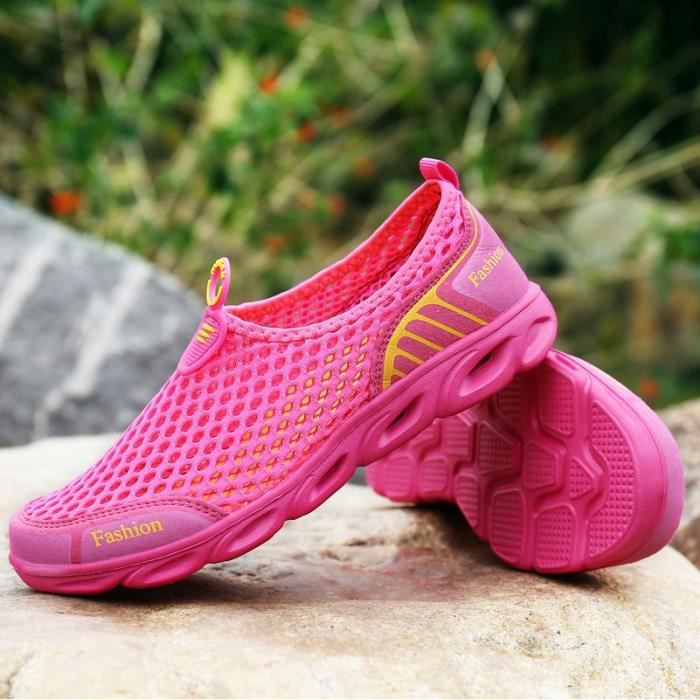Outdoor étudiant féminin Summer Fashion Slip-on chaussures imperméables