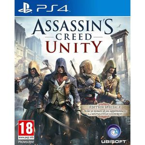 JEU PS4 Assassin's Creed Unity PS4
