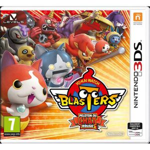 JEU 3DS Yo-Kai Watch Blasters : Peloton du chat rouge Jeu