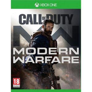 JEU XBOX ONE CALL OF DUTY : Modern Warfare Jeu Xbox One