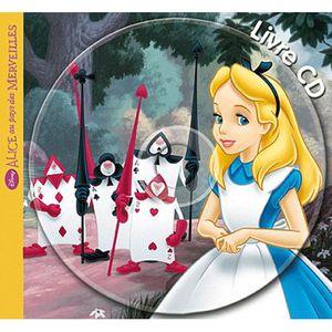 Livre 3-6 ANS DISNEY - Alice aux pays des merveilles, mon petit