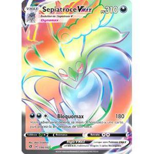 Pokemon 198//192 Sepiatroce VMAX Hyper Rare Epee et Bouclier 2 EB02 VF Francais