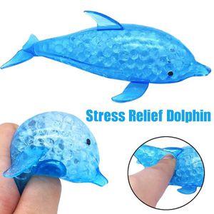 HAND SPINNER - ANTI-STRESS Spongieuse Dolphin Perle balle anti-stress Toy com