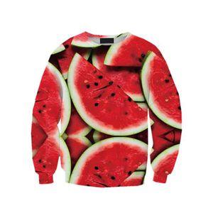 SWEATSHIRT Femme Fille Tops T-Shirts de Loisir Pull-over Fin