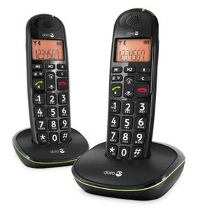 Téléphone fixe DORO Phone Easy 100w Duo