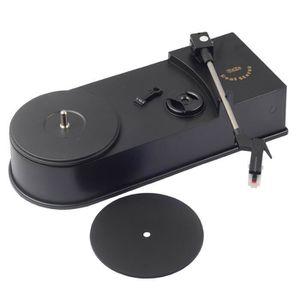 PLATINE VINYLE Mini tourne-disque tourne-disque USB rétro avec ha
