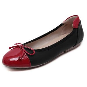 on sale 1974e ab843 BALLERINE Tomwell Confortable Chaussures Femme Bowknot Balle