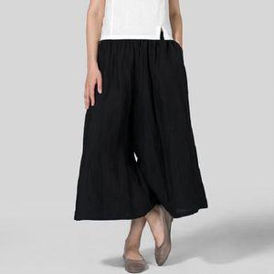 PANTALON Pantalon décontracté à jambes larges pour femmes e