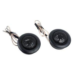 SONNETTE - KLAXON VÉLO 2 Pieces Haut-parleurs de voiture Haut-parleurs de