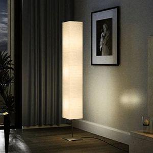 LAMPADAIRE Lampe de salon sur pied - Aluminium - 170 cm