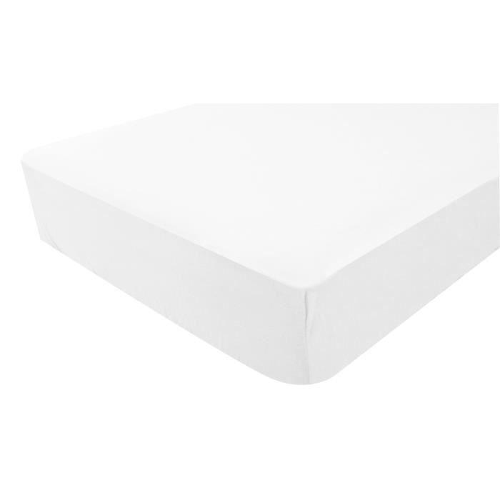 DOUX NID Lot de 2 Alèses 60x120 cm Blanc
