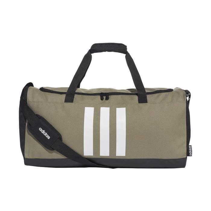Sac de sport adidas 3-Stripes Medium - vert/noir/blanc - TU
