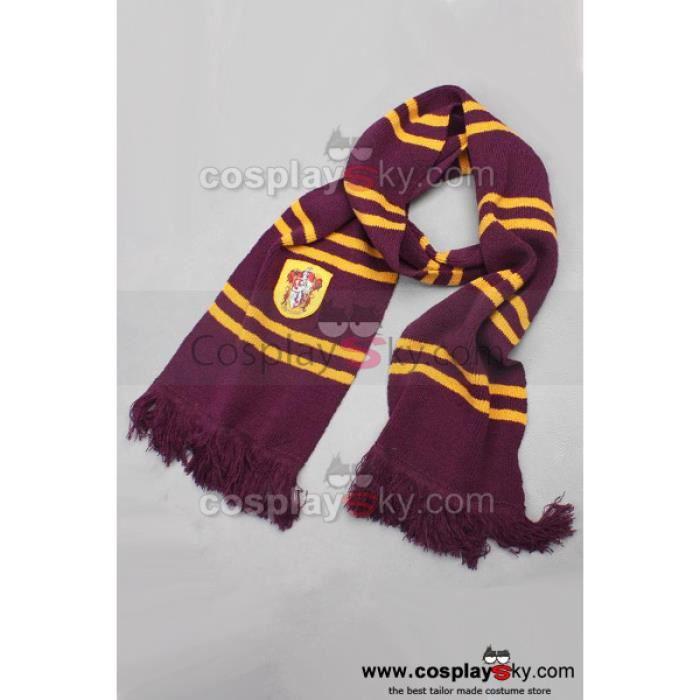 Harry Potter Gryffindor Echarpe Cosplay Accessoire