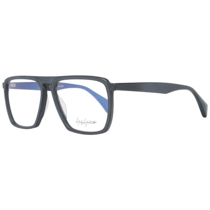 Yohji Yamamoto Men's Optical Frames Eyewear Black YY1044 56002