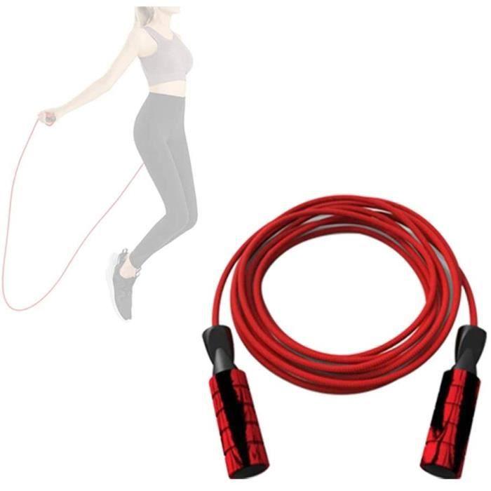 Corde Crossfit Corde Musculation Fitness Corde Agrave Sauter Corde agrave Sauter avec Compteur Vitesse Corde Agrave Sauter Adulte