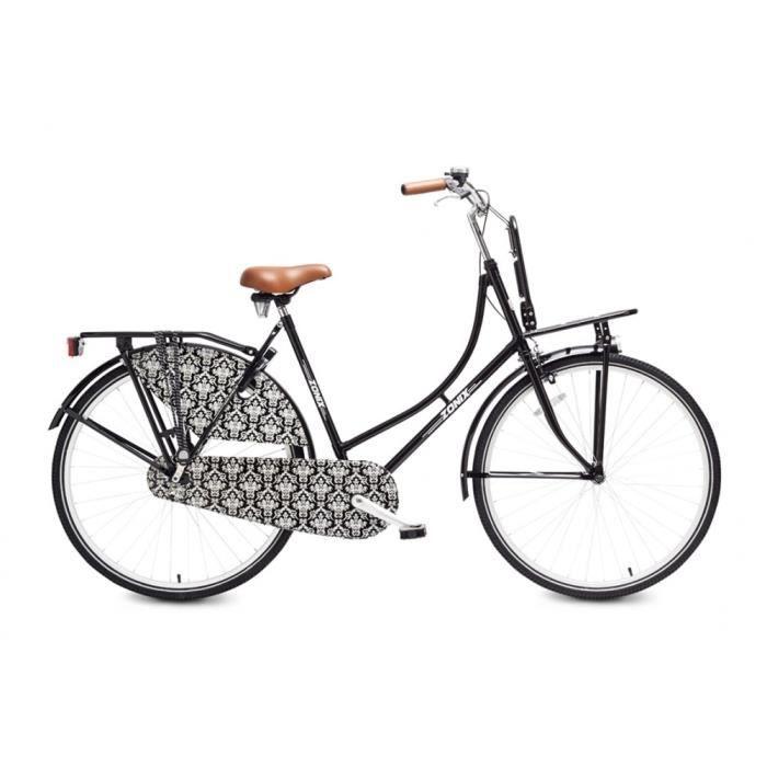 Vélo Fille Zonix City Light 26 Pouces Frein à Rétropédalage Mat Noir 85% Assemblé