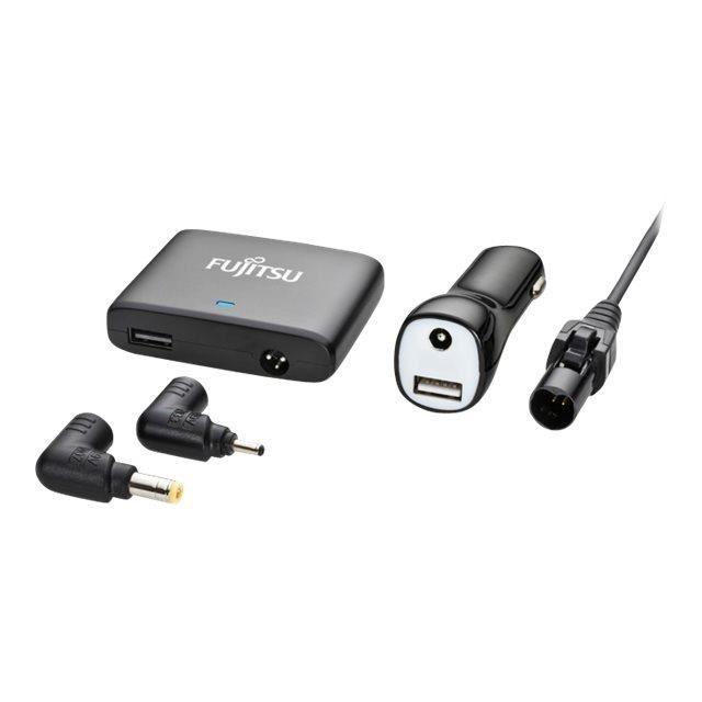 FUJITSU Adaptateur de voiture - 67 W - Pour Ordinateur Portable, Lecteur MP4, Netbook, Téléphone Mobile, Lecteur MP3, Tablette PC
