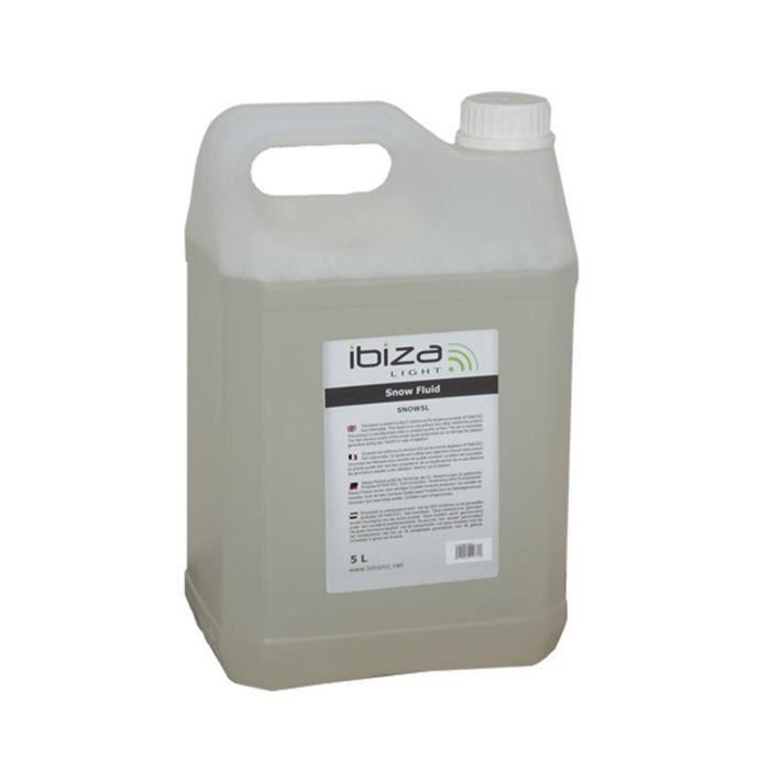 Bidon de 5 Litres de liquide spécial machine à neige IBIZA SNOW5L