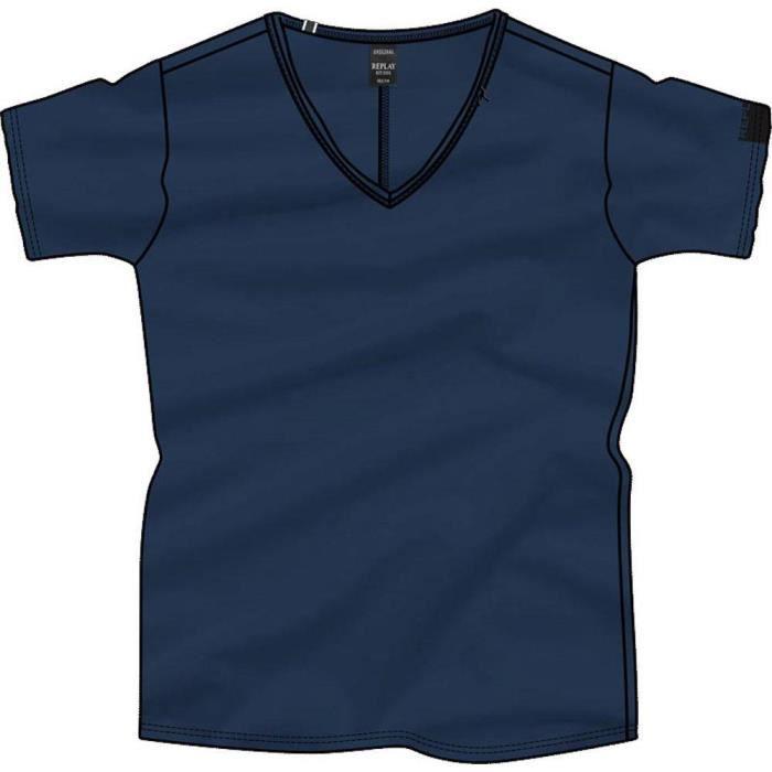 vêtements homme t-shirts replay m3591. composition: 100% coton.