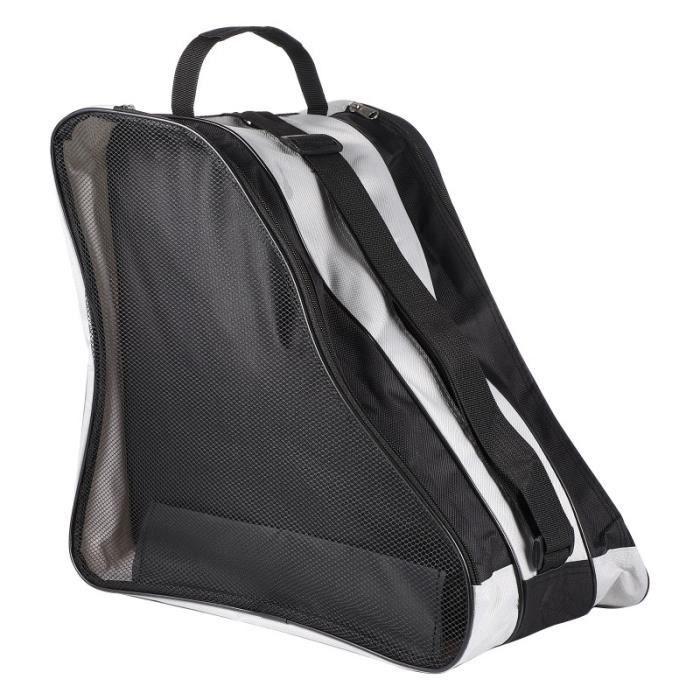 1PC Triangle Roller Bag Tote Handbag (Noir) PATIN A ROULETTE - PATIN QUAD