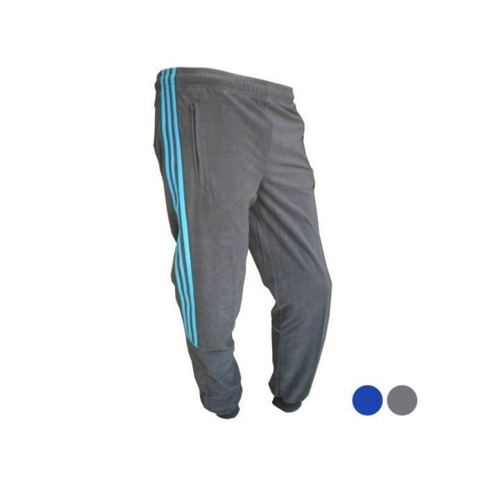 Adidas - Pantalons de Survêtement pour Enfants Adidas YB CHAL KN PA C - (Bleu - 6-7 ans)