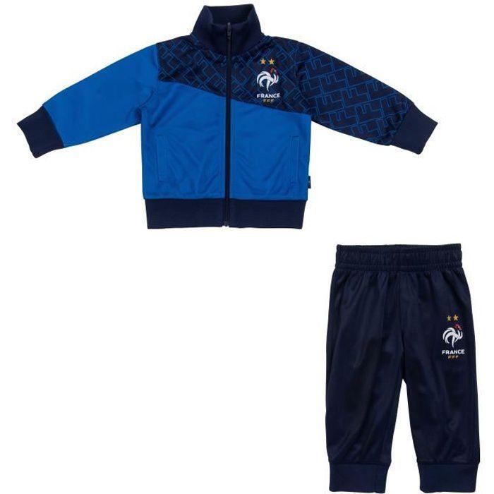 Survêtement bébé garçon FFF - Collection officielle Equipe de France de Football