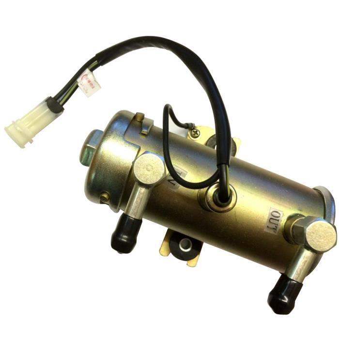 1 Pc Pompe À Carburant Remplacement Durable Pratique Électrique 12 V Portable pour Moto Voiture Camion RESERVOIR D'ESSENCE