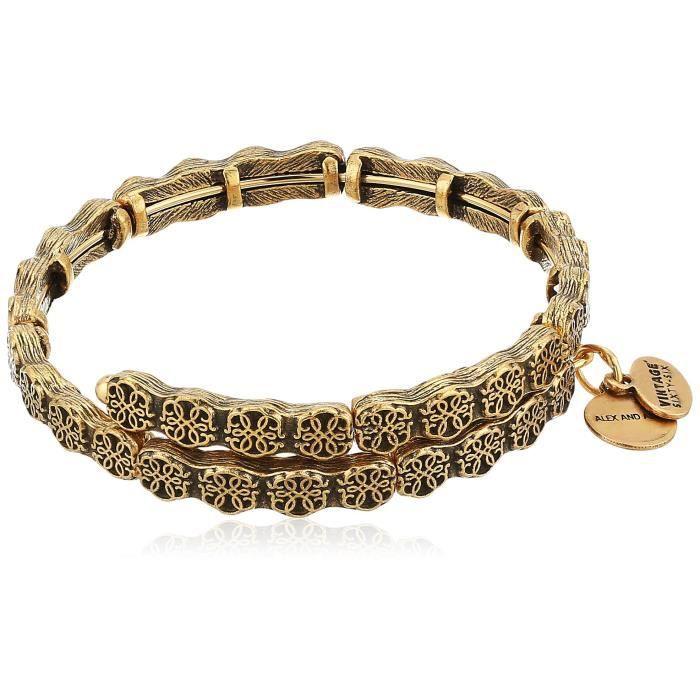 CHEMIN DE TABLE ALEX AND ANI Chemin de la vie Wrap Bracelet 1D71OD