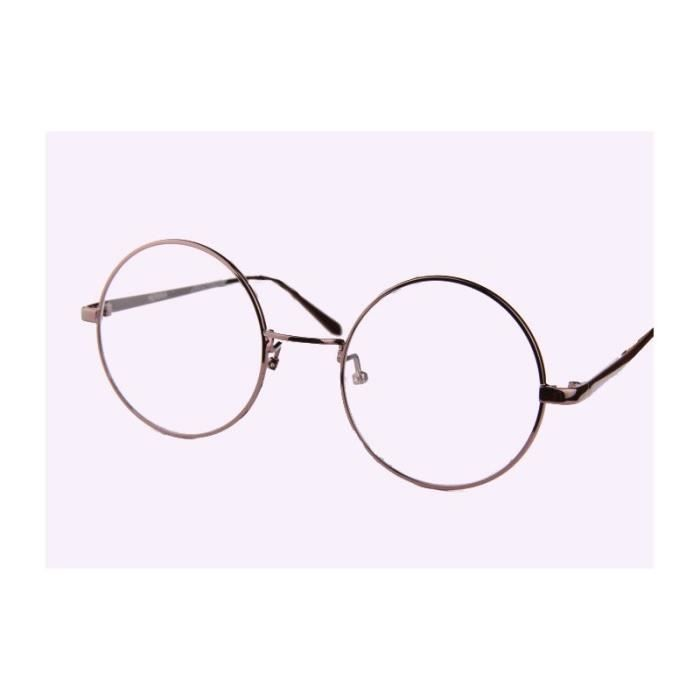 lunettes oversize ronde coffee achat vente lunettes de vue lunettes oversize ronde coffee
