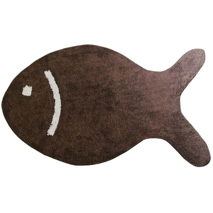 tapis salle de bain deco fun poisson design cot achat. Black Bedroom Furniture Sets. Home Design Ideas