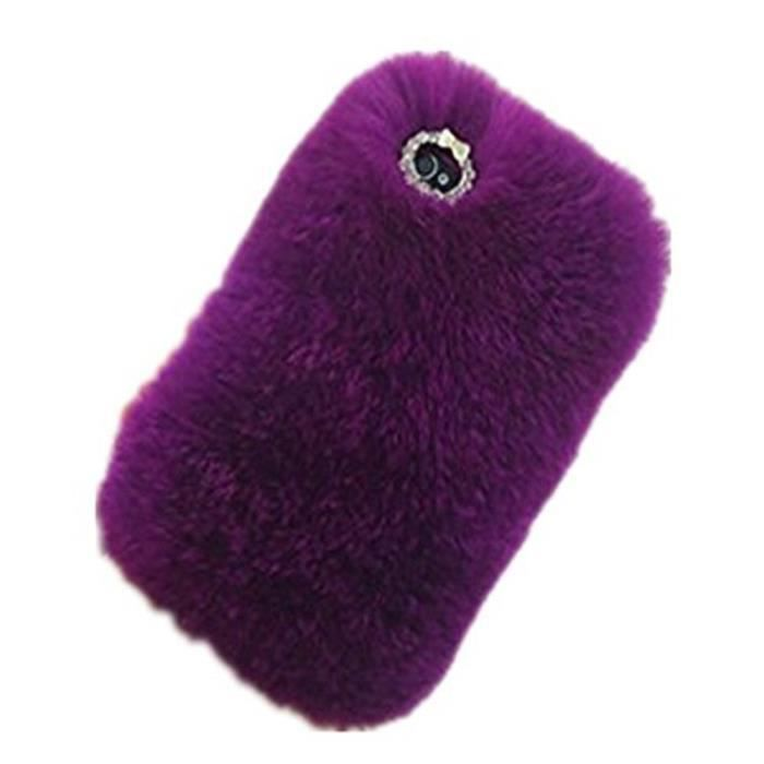 coque iphone 5s fourrure violet 960x ref 16