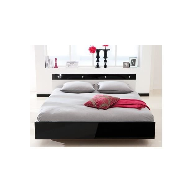 lit 160x200 achat vente lit complet lit 160x200. Black Bedroom Furniture Sets. Home Design Ideas