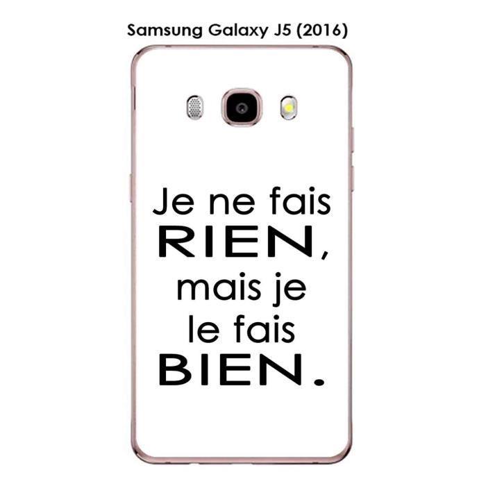 Coque Samsung Galaxy J5 (2016) design Citation