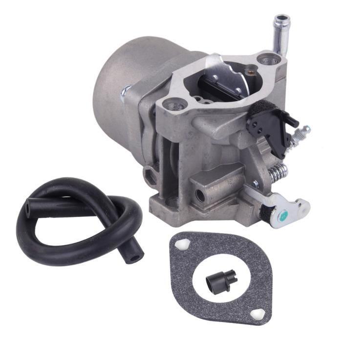 ACAMPTAR 590399 Carburateur Carb pour 796077 Moteur de Tondeuse /à Gazon avec Joint de Soupape de Filtre de Conduite de Carburant