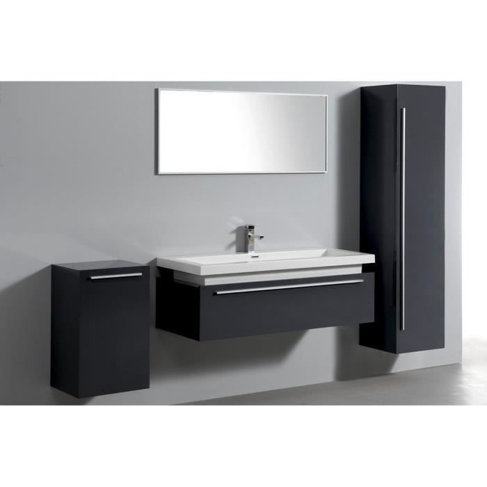 meuble salle de bain complet 1 vasque 1 miroir achat vente ensemble meuble sdb meuble. Black Bedroom Furniture Sets. Home Design Ideas