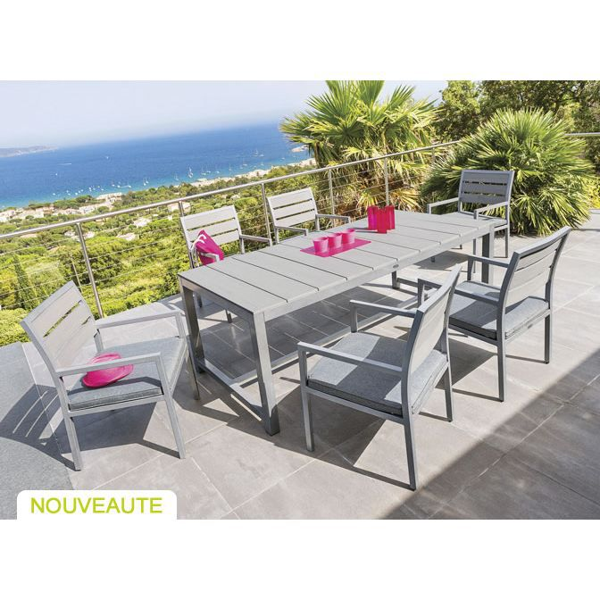 table et fauteuils de jardin hesp ride daytona achat. Black Bedroom Furniture Sets. Home Design Ideas