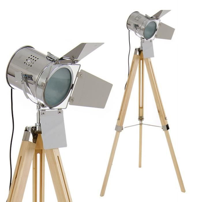 Home Decor Lampe Projecteur Retro Gris 153 Cm Couleur Gris