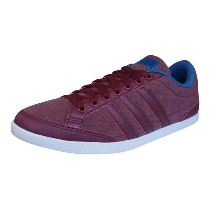 adidas Neo Caflaire Baskets hommes Chaussures Rouge