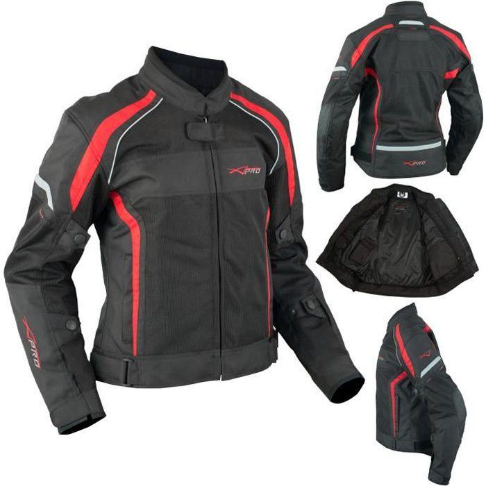 BLOUSON - VESTE Textile Moto Blouson Femme Protections CE Respiran