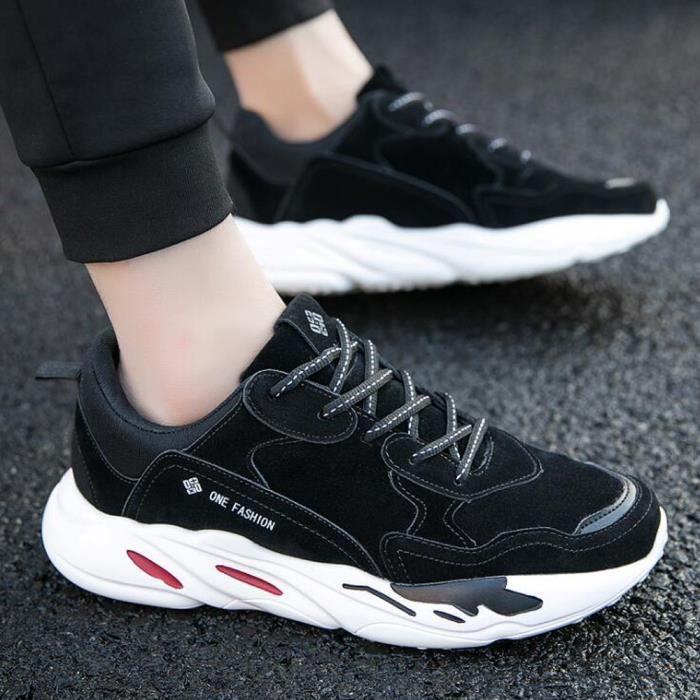 Noir Marque Plein tendance Air Nouvelle Confortable De Chaussures Homme Luxe De De Basket Antidérapant VpUSzqM