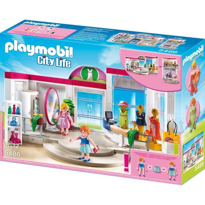 playmobil 5486 boutique de vtements achat vente univers