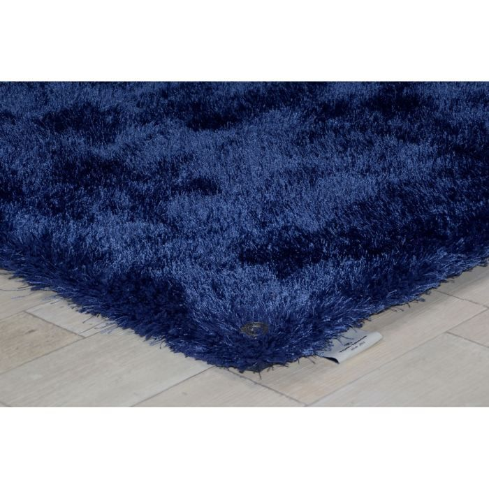 tapis shaggy soft bleu tom tailor achat vente tapis cdiscount. Black Bedroom Furniture Sets. Home Design Ideas