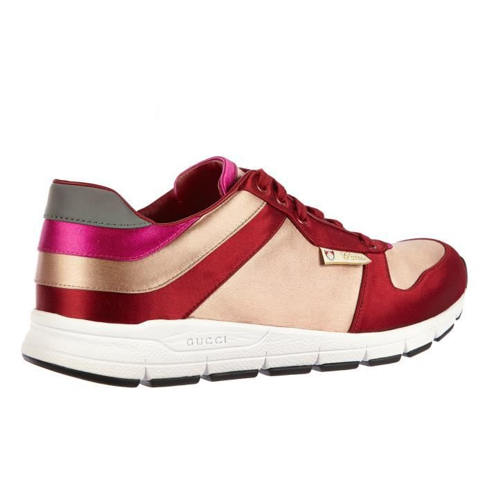 Chaussures baskets sneakers femme Gucci