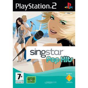 JEU PS2 SINGSTAR POP HIT / JEU CONSOLE PS2