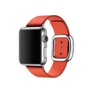 MONTRE CONNECTÉE Apple 38mm Modern Buckle M bracelet de montre roug