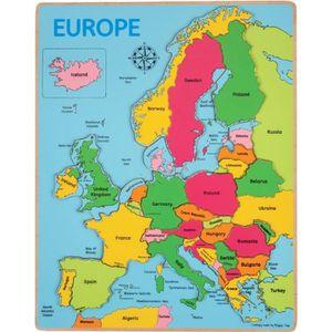PUZZLE Puzzle à encastrer Europe