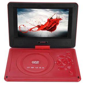 LECTEUR DVD PORTABLE Lecteur de DVD de voiture portable VCD CD AVI lect