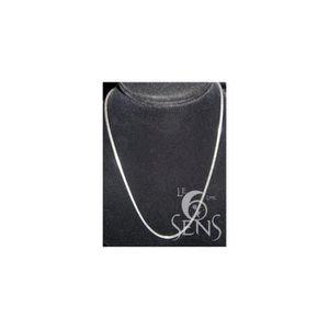 CHAINE DE COU SEULE Chaine Argent 925°, maille carrée